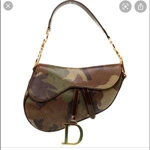 ✨Authentic Original Dior Camo Saddle Bag ✨NWT✨